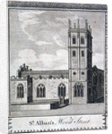 St Alban's Church, Wood Street, London by Anonymous