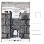 Aldgate, London, c1800(?) by Anonymous