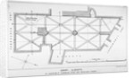 Plan of the groining for St Michael's Crypt, Aldgate Street, London, c1830(?) by J Emslie & Sons