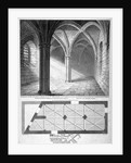 St Michael's Crypt, Aldgate, London by William Wise