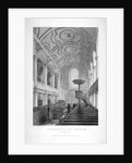 St Andrew by the Wardrobe, City of London by John Le Keux