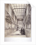 Interior view of St Andrew Undershaft, City of London by