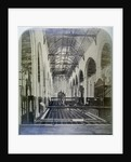 Interior of Austin Friars, City of London by