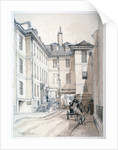 Austin Friars Street, City of London by Thomas Colman Dibdin