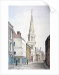 View of St Antholin from the west, City of London by