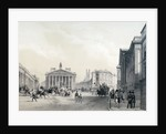 The Bank of England, Royal Exchange and Mansion house by Jules Louis Arnout