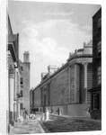 View of the north front of the Bank of England, City of London by Thomas Malton II