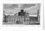 View of the new building at the Bank of England, City of London by