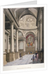 Interior of the Church of St Stephen Walbrook, City of London by