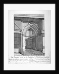 Gateway to the Church of St Bartholomew-the-Great, Smithfield, City of London by Anonymous