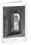 Gateway to the Church of St Bartholomew-the-Great, Smithfield, City of London by John Greig