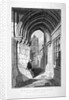 Western entrance to the Church of St Bartholomew-the-Great, Smithfield, City of London by