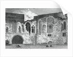 Ruins of the south transept, Church of St Bartholomew-the-Great, Smithfield, City of London by Anonymous