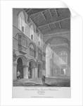 Interior view of the Church of St Bartholomew-the-Great, Smithfield, City of London by John Burnet
