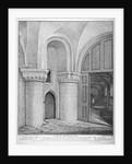 Interior view of the Church of St Bartholomew-the-Great, Smithfield, City of London by John Thomas Smith