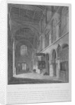Interior view of the Church of St Bartholomew-the-Great, Smithfield, City of London by