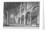 Interior view of St Bartholomew's Priory, Smithfield, City of London by John Coney