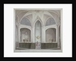 Interior of the Church of St Bartholomew-the-Less, City of London by Robert Blemmell Schnebbelie
