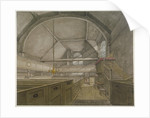 Interior of the chapel in the Church of St Bartholomew-the-Great, Smithfield, City of London by