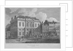 View of the Auction Mart in Bartholomew Lane, City of London by J Shury