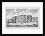 View of Baynard's Castle with boats on the River Thames, City of London by Anonymous