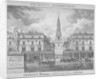 View of St Bride's Church, Fleet Street, through St Bride Avenue, City of London by Anonymous
