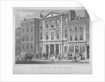 View of the Coal Exchange in Thames Street, City of London by