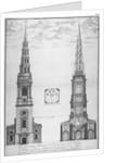 St Bride's Church, Fleet Street, City of London by