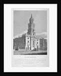 View of the Church of St Botolph without Bishopsgate, City of London by