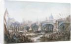 Opening of Blackfriars Bridge, London by George Chambers