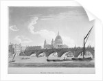 Blackfriars Bridge, London by