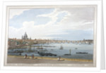 Blackfriars Bridge, London by Joseph Constantine Stadler