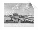 View of Blackfriars Bridge under construction, London, c1762 (1775) by