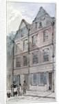 Houses in Blackhorse Alley, Fleet Street, City of London by James Findlay