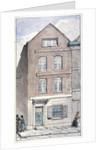 View of no 7 Blackhorse Alley, Fleet Street, City of London by