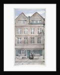 View of no 2 Blackhorse Alley, Fleet Street, City of London by