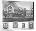 Sir Paul Pindar's House, Half-Moon Street, Bishopsgate, City of London by Thomas Dale