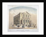 View of Bishopsgate Congregational Chapel, Bishopsgate, City of London by Anonymous
