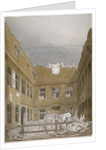 Blackwell Hall, City of London by Robert Blemmell Schnebbelie