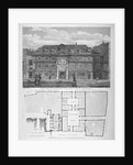 Blackwell Hall, King Street, City of London by Thomas Dale