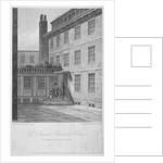 View of no 8 Bolt Court, where Dr Samuel Johnson lived, City of London by