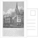 Church of St Botolph, Aldgate, City of London by W Preston