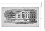 A View of Charlotte Row, near the Mansion House, City of London by Anonymous