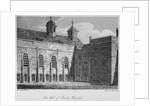 View of the hall of Christ's Hospital, City of London by William Woolnoth