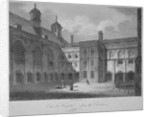 Christ's Hospital from the cloisters, City of London by James Sargant Storer