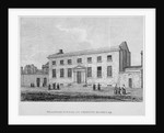 View of the grammar school at Christ's Hospital, City of London by JB