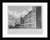 View of the new grammar and mathematical schools, Christ's Hospital, City of London by