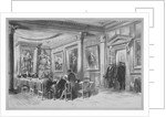 Interior view of the Scottish Corporation in Crane Court, near Fleet Street, City of London by J Maclure