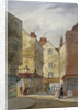 View of Cloth Fair and Middle Street, West Smithfield, City of London by EH Dixon