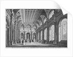 Interior view of the Clothworkers' Hall, Mincing Lane, City of London by Anonymous